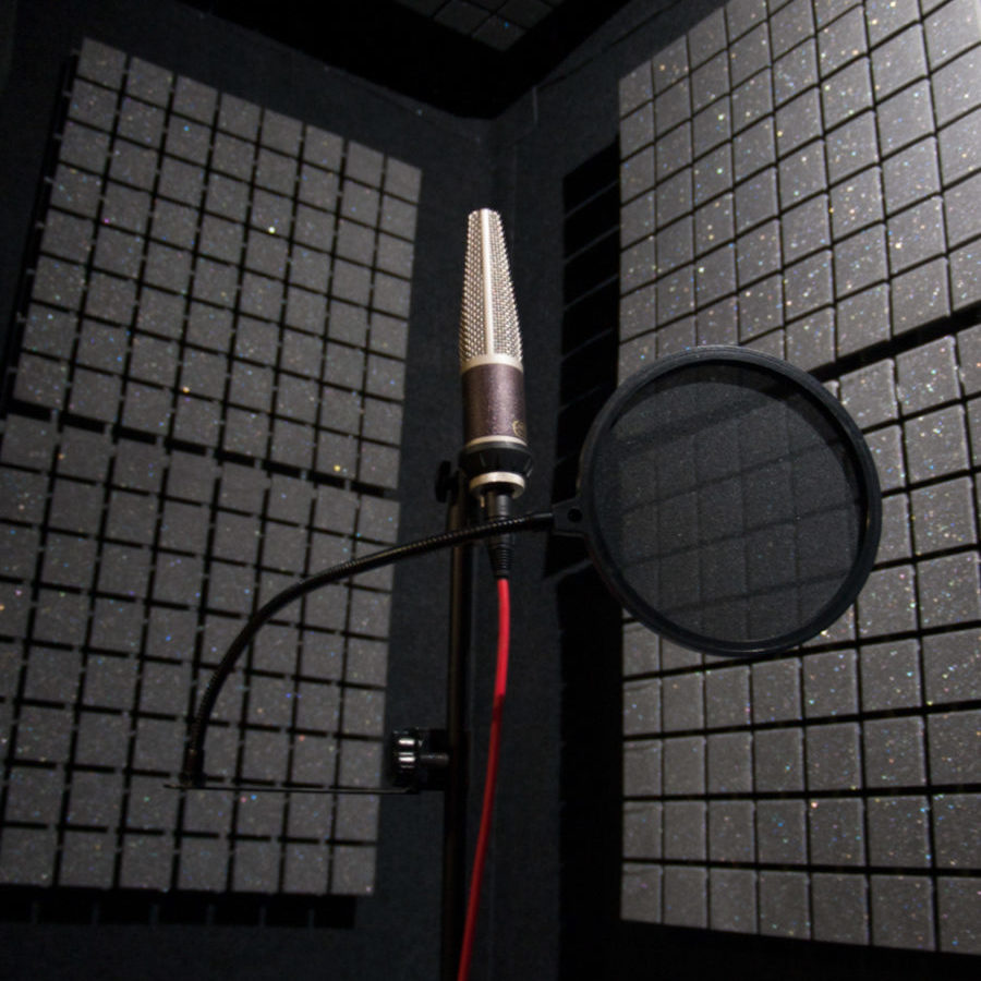 Vocal booth recording @htsound