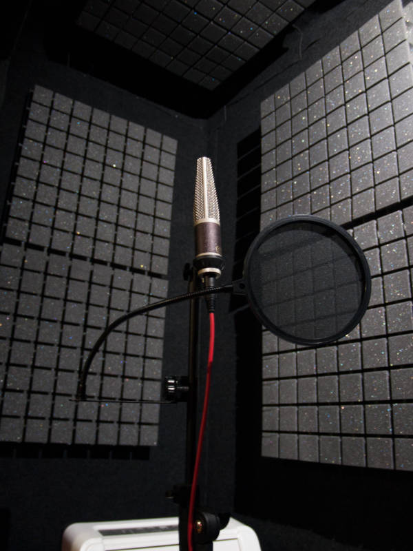 Vocal Foley Recording Room